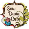 I was featured on Sew Dang Cute!