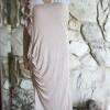modestify a one shoulder dress DIY