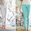 DIY: perfect mint color jeans