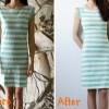 DIY: lengthen a short dress part two.