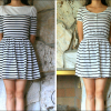 DIY: A dress that's too short & a dress that shrunk