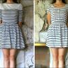 DIY: A dress that's too short & a dress that shrunk