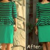 DIY: tailor a peplum top & a pencil skirt
