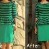 DIY: tailor a peplum top & a pencil skirt