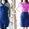DIY: scallop dress into a scallop skirt