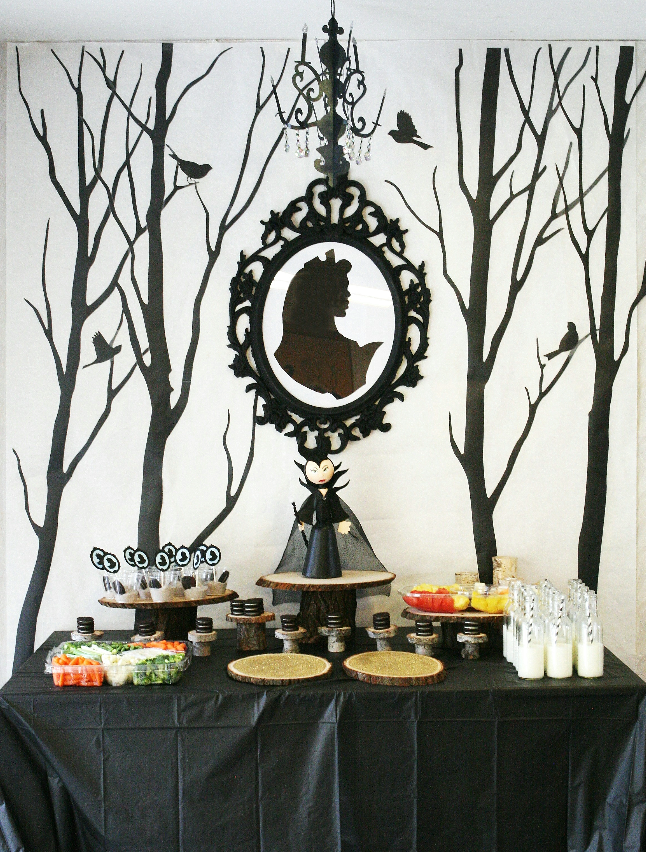 Maleficent birthday party