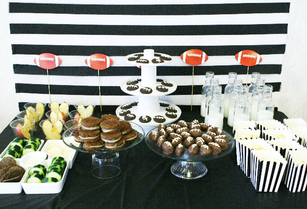 Oreo Football Party ideas