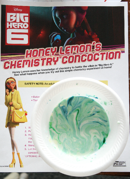 Big Hero 6 Oobleck Recipe