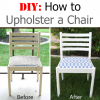 DIY: How to Upholster a Chair