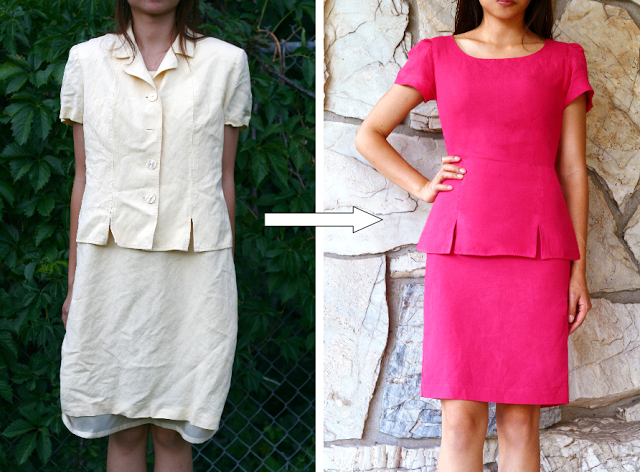 Refashion by dyeing your clothes DIY
