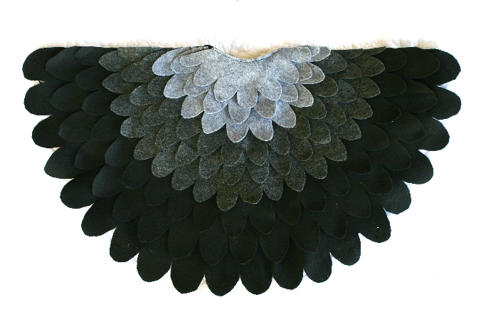 Felt Bird Wings