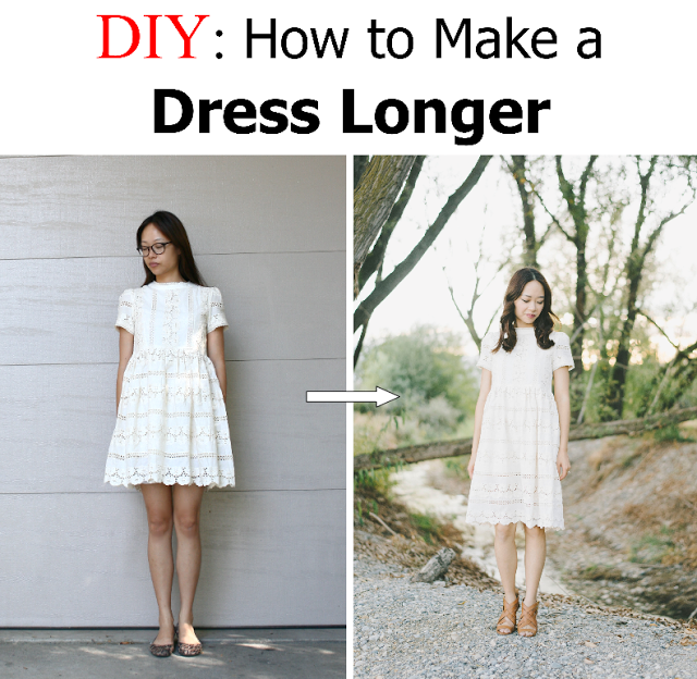 Make dress look longer