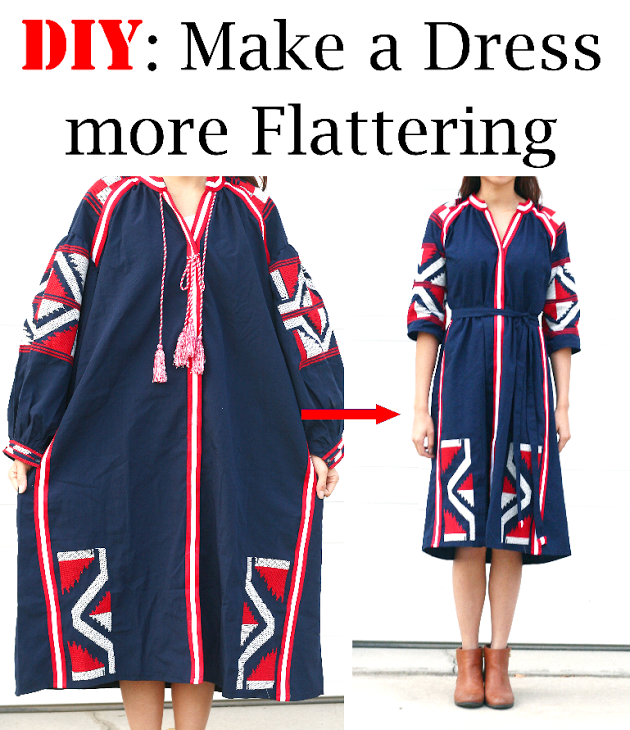 Make a Dress more Flattering