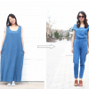 REFASHION DIY: XXL MAXI DRESS TO A JUMPSUIT