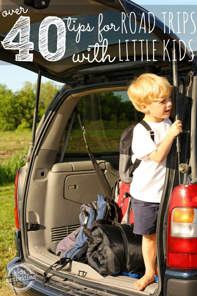 Road Trip Tips for Toddlers