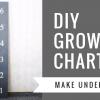 DIY GIANT RULER GROWTH CHART