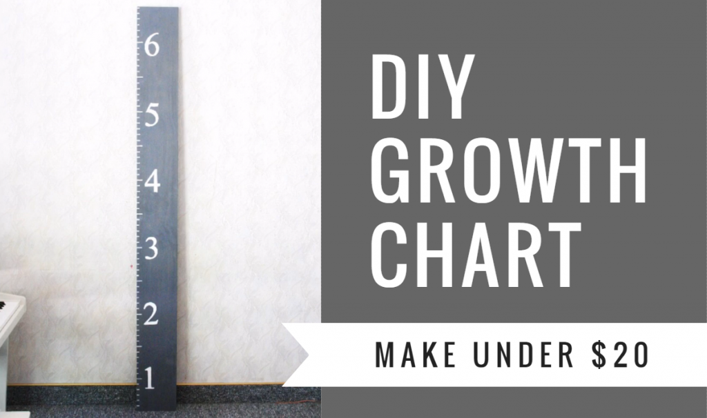 Diy Giant Ruler Growth Chart Life Is Beautiful