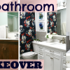 DIY: UGLY BATHROOM TO A BEAUTIFUL NEW BATHROOM RENOVATION