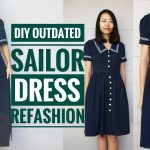 DIY: OUTDATED SAILOR DRESS REFASHION + LITTLE PASSPORTS GIVEAWAY