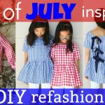 DIY | 4th of JULY INSPIRED WOMEN'S SHIRT REFASHION