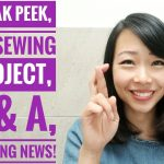 Sneak Peek of my Next Refashion, My 1st Sewing Project, Q & A and an exciting news!