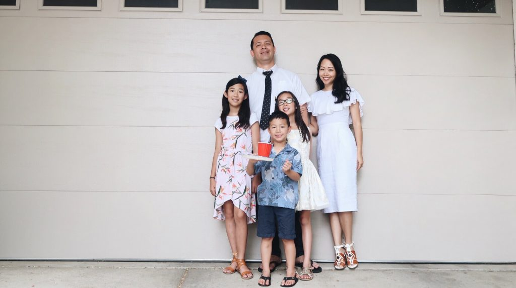 sunday best, family photo, asian family, utah family, asian utah familly