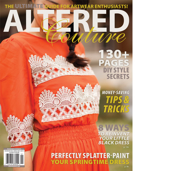 altered couture, seamstress, sewing magazine, magazine feature, sarah tyau