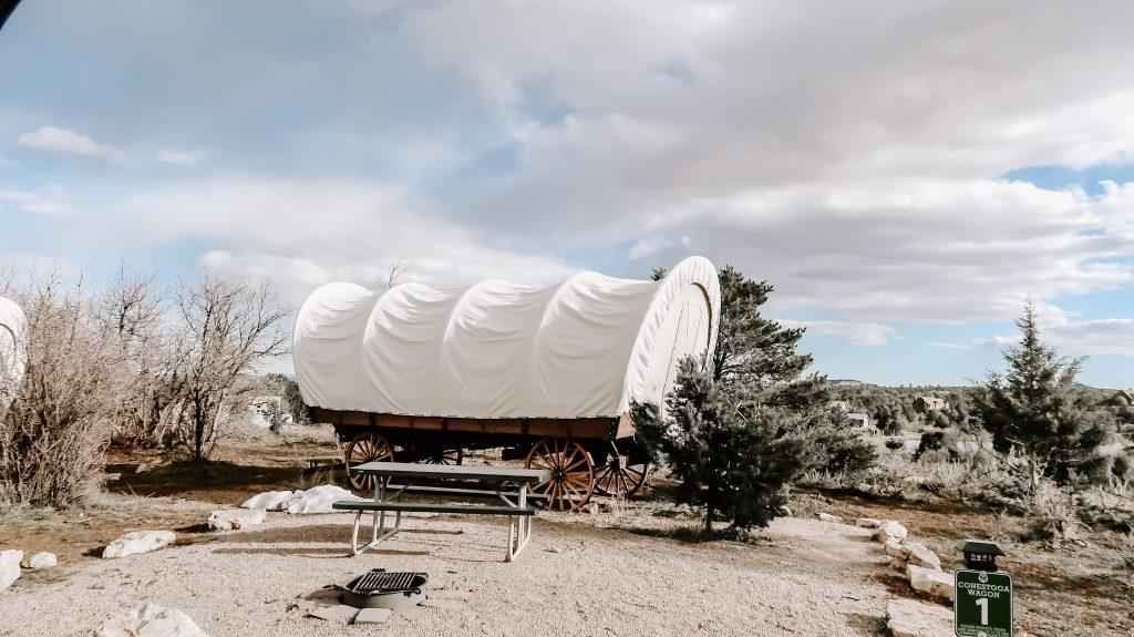 wagon at zion ponderosa