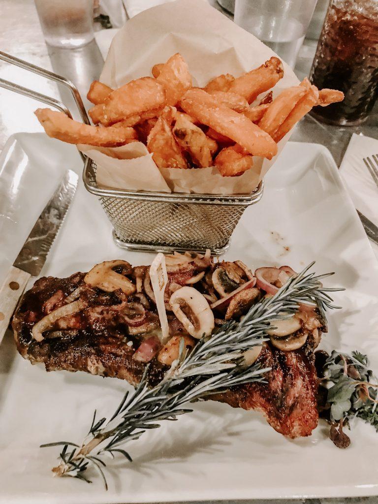steak at zion ponderosa