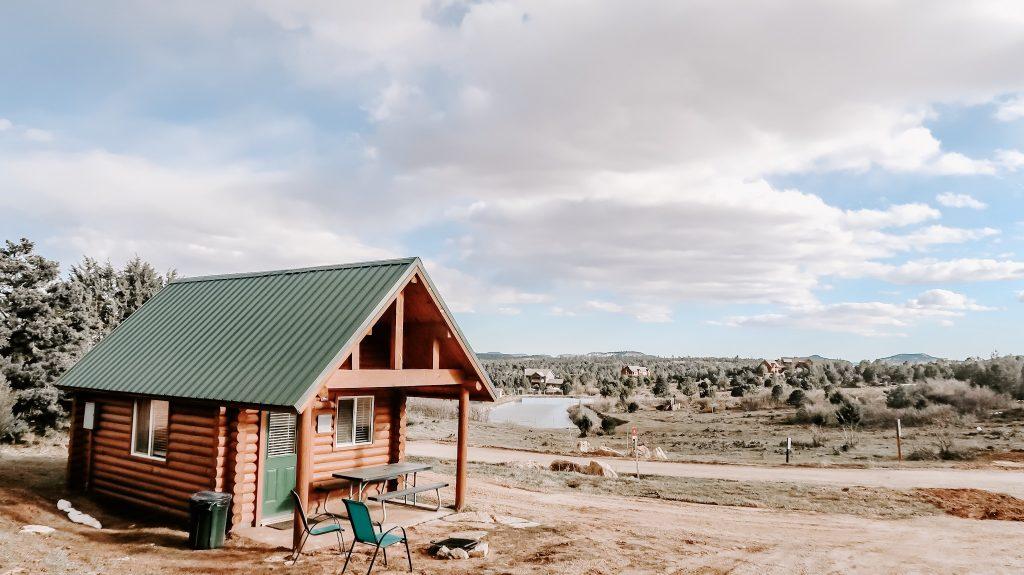 cabin at zion ponderosa